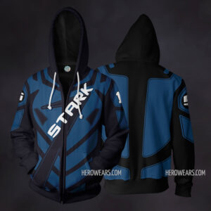 Tony Stark Racing Zip Up Hoodie
