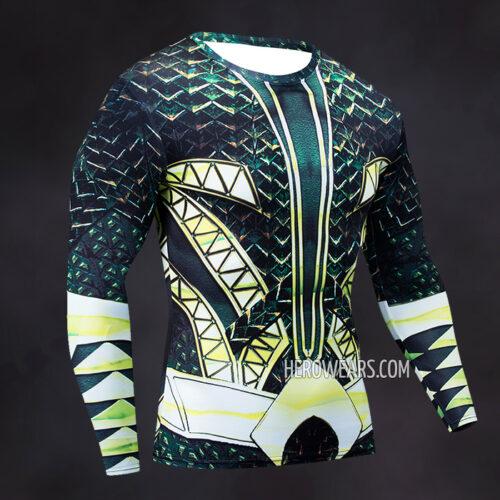 Aquaman Compression Shirt Rashguard