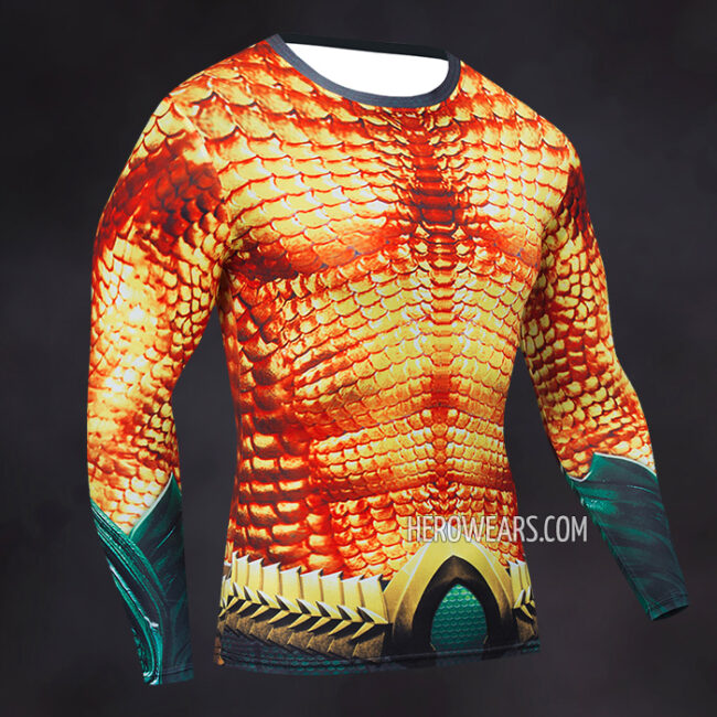 Aquaman Compression Shirt Rashguard