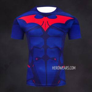 Batman Beyond Rash Guard Compression Shirt