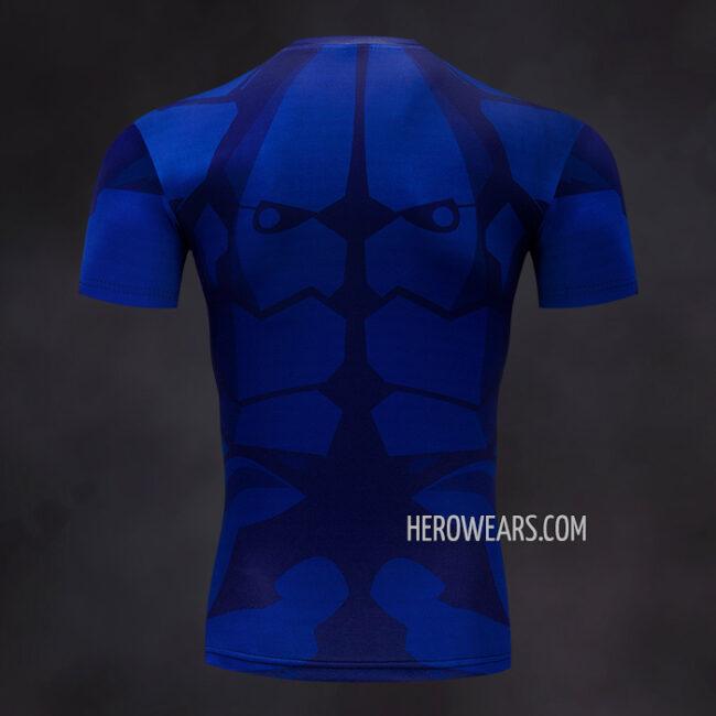 Batman Beyond Rash Guard Compression Shirt