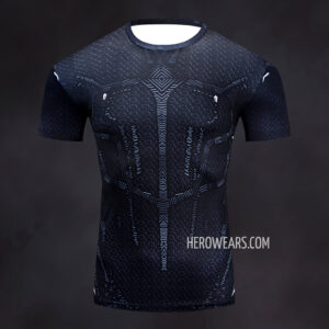 Black Panther Rash Guard Compression Shirt