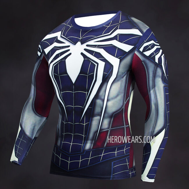 Captain Spider Compression Shirt Rashguard