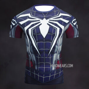 Captain Spider Rash Guard Compression Shirt