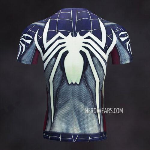 Captain Spider Rash Guard Compression Shirt
