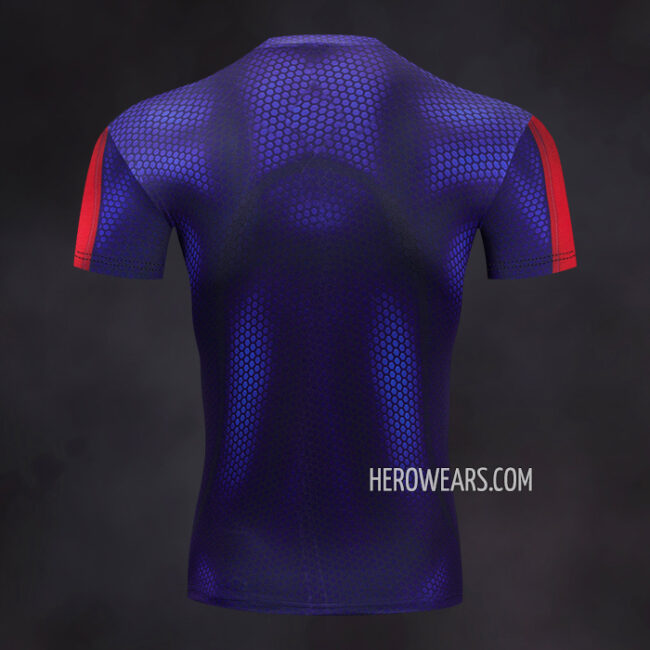 Spiderman 2099 Rash Guard Compression Shirt