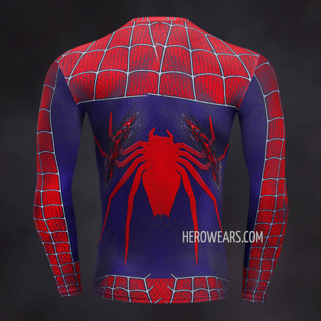Spider Man Compression Shirt Rashguard