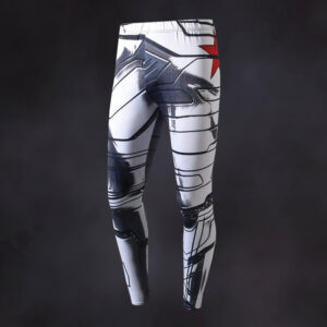 Winter Soldier Compression Leggings