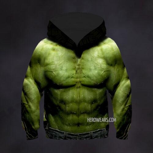 Kid's Hulk Hoodie
