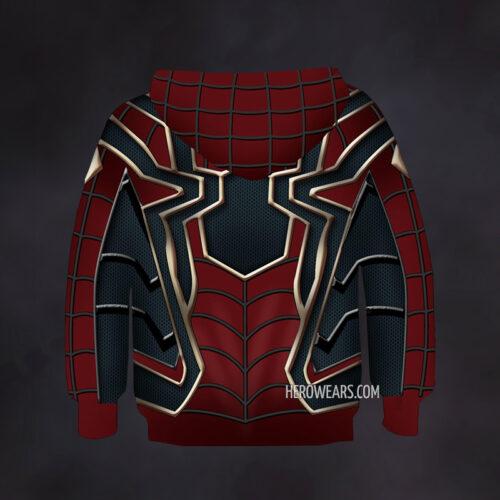 Kid's Iron Spider Hoodie