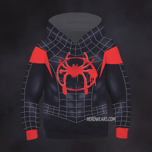 Kid's Spider Man Miles Morales Hoodie