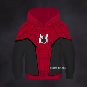 Kid's Spider Man Far From Home Hoodie