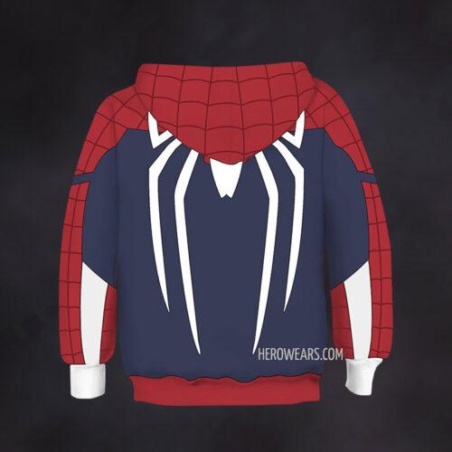 Kid's Spider Man Insomniac PS4 Hoodie