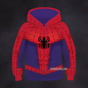 Kid's Spider Man Into The Spider Verse Hoodie
