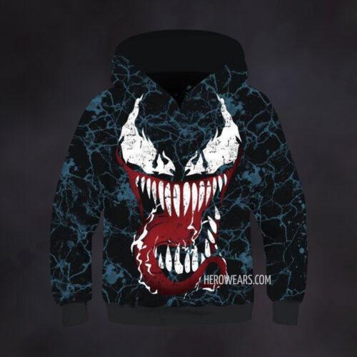 Kid's Venom Hoodie