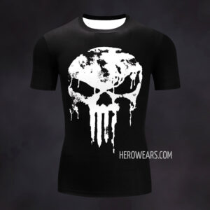 Punisher Compression Shirt Rash Guard
