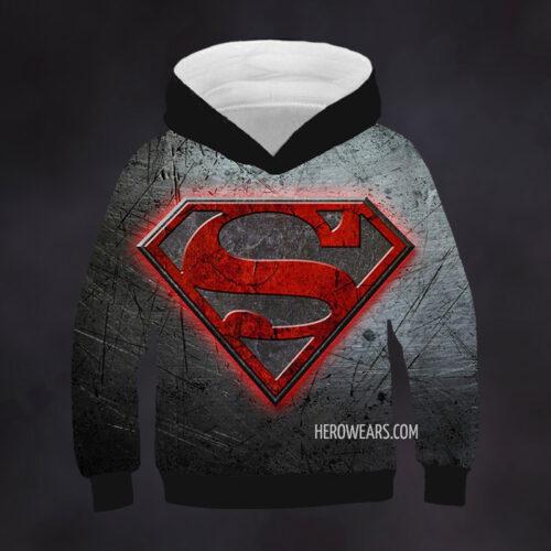 Kids Superman Hoodie