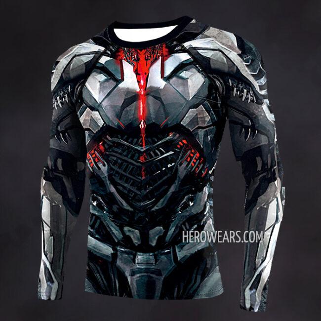Cyborg Compression Shirt Rash Guard