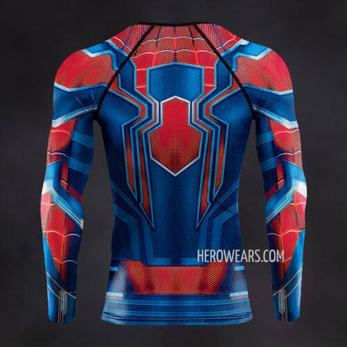 Iron Spider Suit Compression Shirt Rash Guard