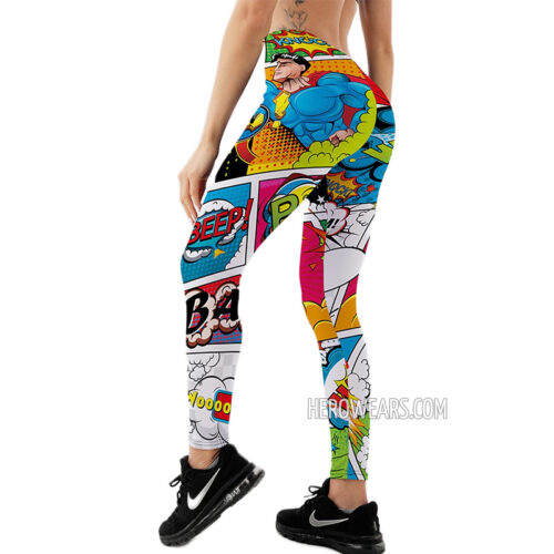 Women's Comic Leggings