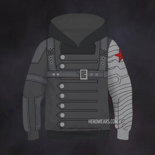 Kid's Winter Soldier Hoodie
