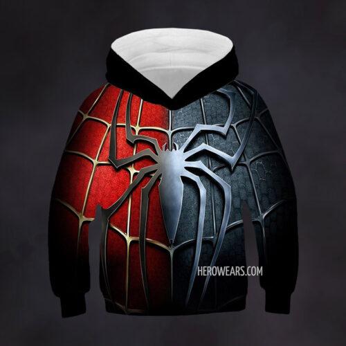 Kid's Spiderman Hoodie