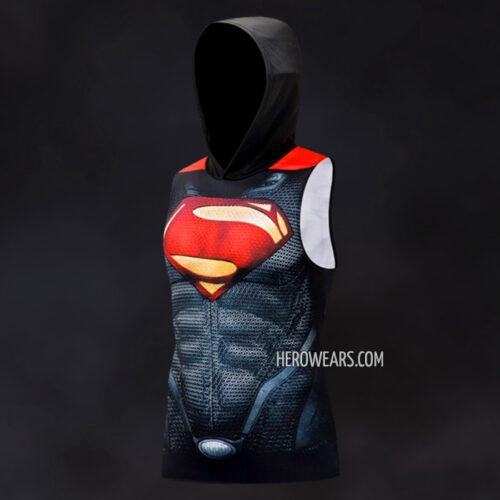 Superman Hooded Tank Top