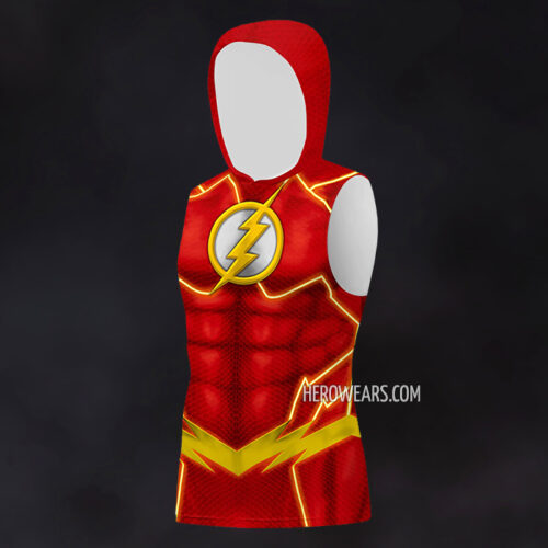 The Flash Hooded Tank Top